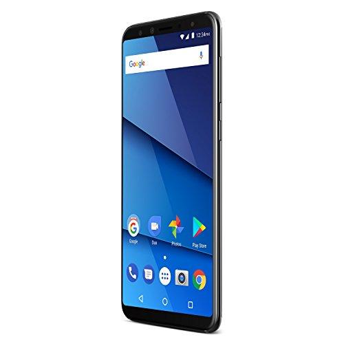 "BLU Pure View -32GB +3GB RAM, 5.7"" HD+ 18:9 Display Smartphone with Dual Front Selfie Cameras -Black"
