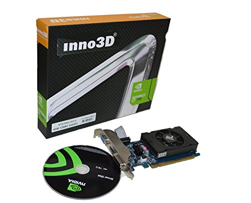 Inno3D Nvidia-Geforce GT 730 4GB DDR3 HDMI DVI VGA video-card PCI-express x16 graphics HD 1080P windows 8/7/vista/XP 25