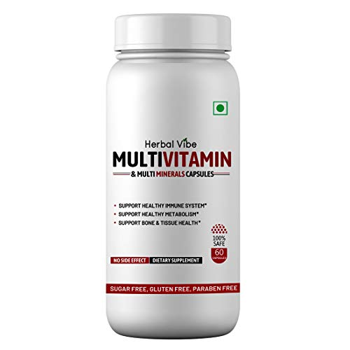 Buy Now! Herbal Vibe Multivitamin & Multi Minerals Capsules