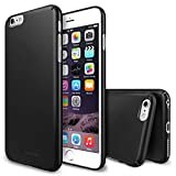 Ringke Slim Compatible with iPhone 6 Plus Case Full Coverage on All 4-Sides & Back Super Slim Lightweight All Around Protection Hard Case for iPhone 6 Plus - Black