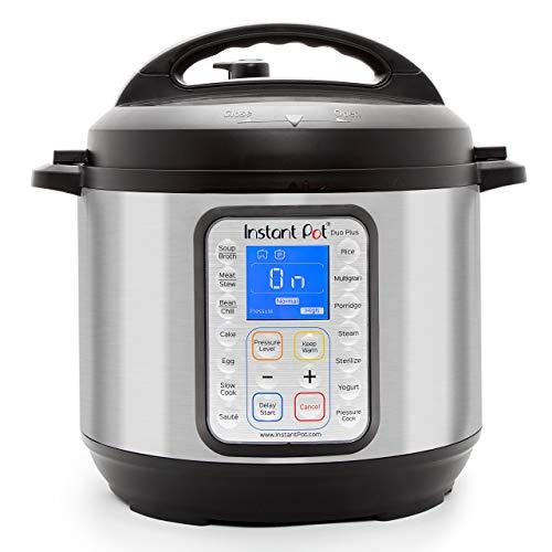 Instant Pot DUO Plus 60, 6 Qt 9-in-1 Multi- Use Programmable Pressure...