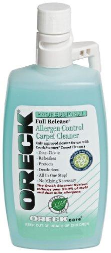 Oreck 40257-01 Full Release Allergen Control Carpet Cleaner 16 oz.