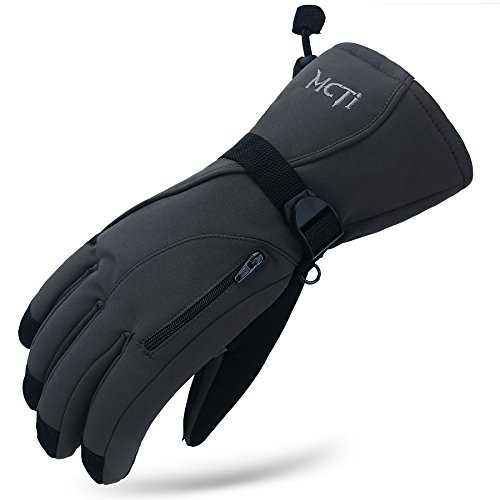 MCTi Winter Ski Gloves (Men's) - Waterproof, Windproof, 3M Thinsulate