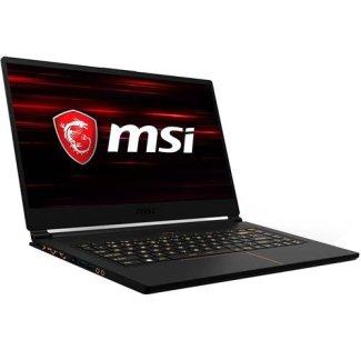 MSI GS65 Stealth THIN-051 15.6' 144Hz 7ms Ultra Thin 4.9mm Bezel Gaming Laptop GTX 1060 6G i7-8750H (6 Cores) 16GB 256GB SSD RGB KB VR Ready, Metal Chassis, Black w/ Gold Diamond Cut, Win 10 64bit
