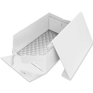 PME Oblong Cake Card & Cake Box 17 x 13-Inch / 43 x 33 cm 41xegt tJWL