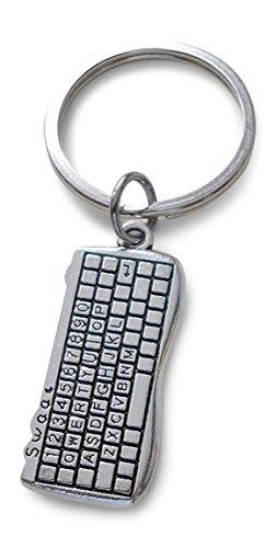 Computer Keyboard Keychain, Computer Engineer Keychain