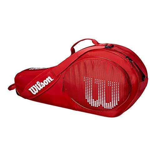 Wilson Sporting Goods 3 Pack Tennis Bag, Red/White