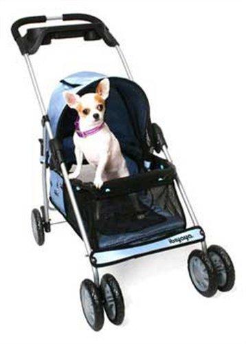 PetZip Urban Voyage Stroller, Blue