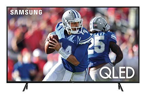 Samsung QN55Q60RAFXZA Flat 55'' QLED 4K Q60 Series (2019) Ultra HD Smart TV with HDR and Alexa Compatibility 1