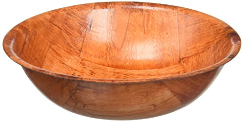 Wooden Woven Salad Bowl, 6-Inch - LOW PRICE!