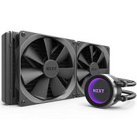 NZXT Kraken X62 280mm - All-In-One RGB CPU Liquid Cooler - CAM-Powered - Infinity Mirror Design - Performance Engineered Pump - Reinforced Extended Tubing - Aer P140mm Radiator Fan (2 Included)