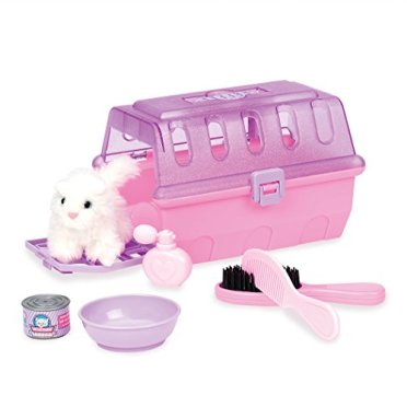 Pink Cat Grooming Equipment