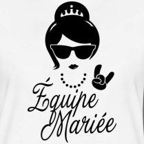 Spreadshirt-EVJF-quipe-Marie-Princesse-T-Shirt-Premium-Femme