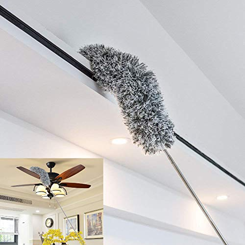 Dusters-for-Cleaning-Microfiber-Head-Bendable-Washable-Duster-RoseFinch-Fang-Dusting-Wand-Extendable-32-98-Wet-or-Dry-Use