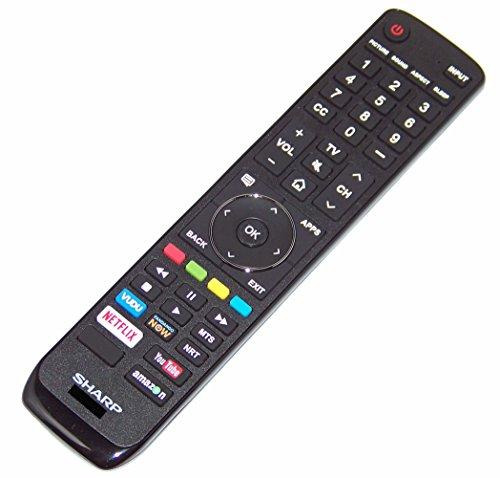 OEM Sharp Remote Control Originally Shipped With LC65P620U, LC-65P620U, LC65P8000U, LC-65P8000U