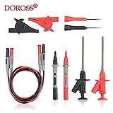 Doross Outlets Multimeter Needle Tip Probe Test Leads Universal Digital Multi Meter Tester Wire Pen 4mm Banana Plug Alligator Clip