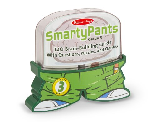 Melissa & Doug Smarty Pants 3rd Grade Card Set -