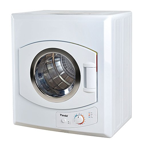 Panda 3.75 cu.ft Compact Laundry Dryer, White