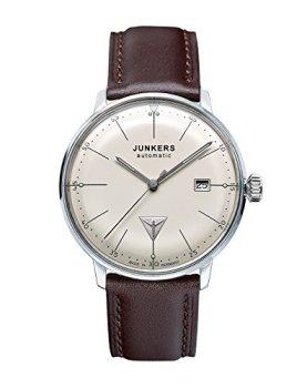 Junkers Bauhaus Swiss ETA Automatic Watch with Domed Hesalite Crystal 6050-5