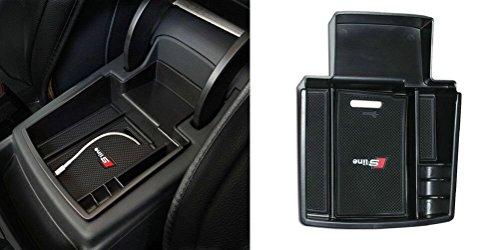 Sunluway® 2015 Latest Car Glove Box Armrest Storage box Organizer Center Console Tray For Audi Q5 2008-2015