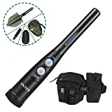INTEY Pinpointer Metal Detector with a Carrying Waist Bag & Foldable Shovel
