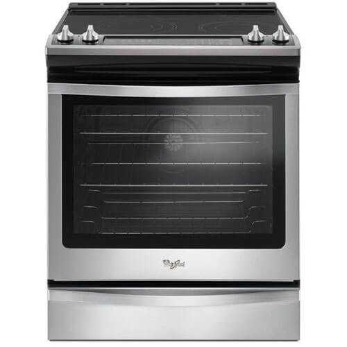 Whirlpool WEE745H0FS WEE745H0FS 6.4 cu. ft. Stainless Steel True Convection Electric Range