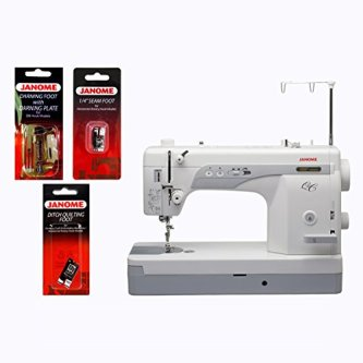 Janome 1600P-QC Straight-Stitch Machine and Kit