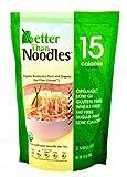 Better Than Noodles. Certified Organic. Vegan, Gluten-Free, Non-GMO, Konjac Noodles 14 Ounces (6 Pack) ...