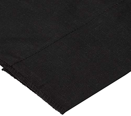 Richland Textiles Cotton Broadcloth Black Fabric By The Yard