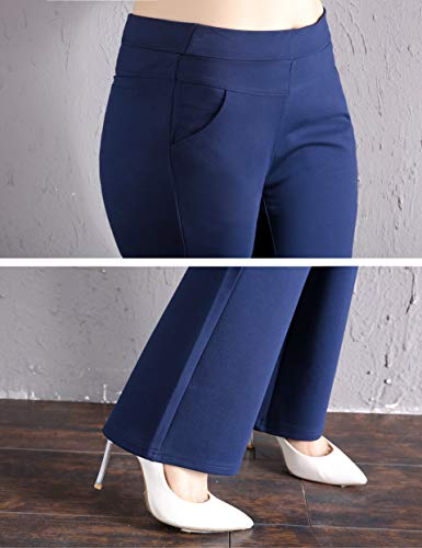 ABCWOO Women's Plus Size Dressy Work Pants for Office,Slimming and Stretchy 18 Fashion Online Shop gifts for her gifts for him womens full figure