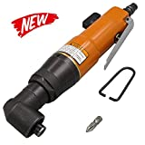 Air Die Grinder,KKmoon KP-805HL 90 Degree Air Die Grinder 1/4 inch Pneumatic Angle Die Grinder Tool Air Angle Grinding Machine Air Screw Driver for Woodworking