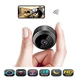 Hidden Wireless Mini Spy Camera - Éclat WiFi Indoor Motion Detection HD 1080P Small Home Security Night Vision Cameras, Video Recording, Nanny Cam with Cell Phone App Monitoring