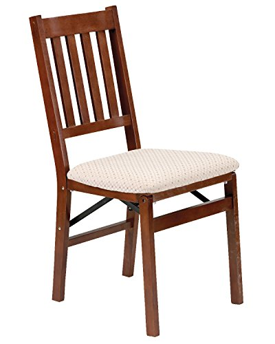 Stakmore Arts and Craft Folding Chair Finish, Set of 2, Cherry