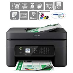 41yTNEm UbL - Epson WorkForce WF-2830DWF Print/Scan/Copy/Fax Wi-Fi Printer with ADF