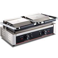 DESENNIE-110V-Commercial-Panini-Grill-Up-Grooved-Flat-Down-Flat-Plates-3600W-Electric-Contact-Grill-with-Dual-Plug-19x9-inch-Non-Stick-Sandwich-Panini-Press-Grill-122F-572F-Temp-Control
