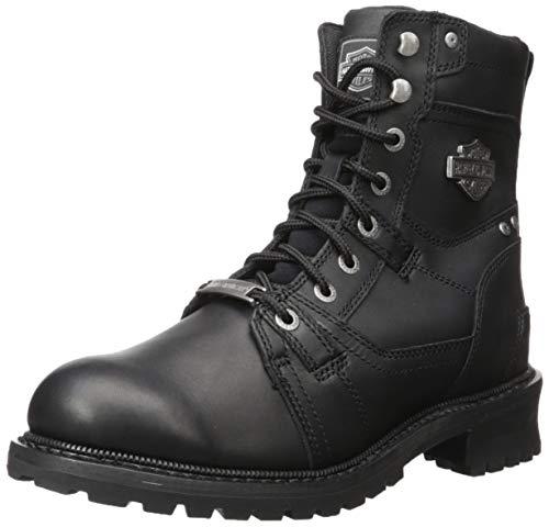 Harley-Davidson Men's Haines Motorcycle Boot, Black, 11.5 M US