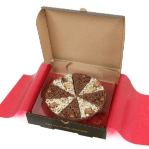 Gourmet Chocolate 7″ Pizza Belgian Chocolate Double Delight 7″ Chocolate Pizza 41yc 2BYFcfsL