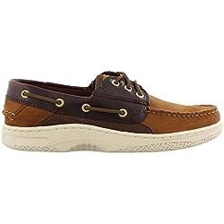 SPERRY Men's Billfish 3-Eye Boat Shoe, Buck/Brown, 14 M US