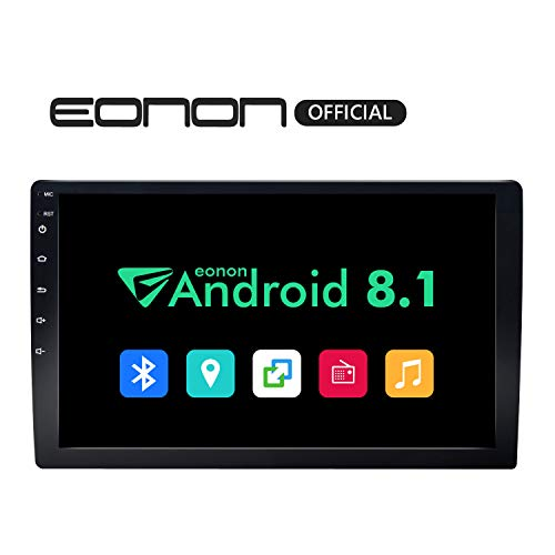 2019 Double Din Car Stereo, Android 8.1 Car Radio Stereo Audio Eonon 10.1' Double Din, Quad-Core, 2GB RAM 16 ROM, Car GPS Navigation Head Unit,Support Bluetooth, WiFi Connection(NO DVD/CD)- GA2168K