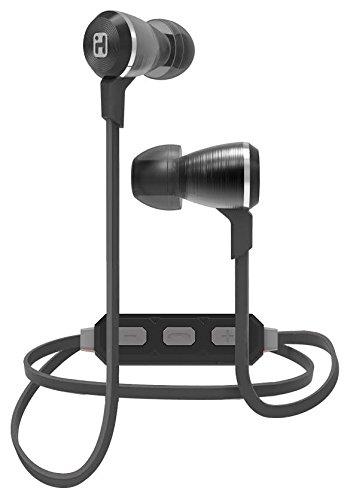 iHome iB29GC Wireless Bluetooth Metal Earbuds Gunmetal