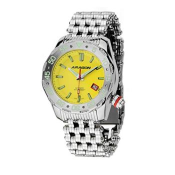 ARAGON A081YEL Sea Charger 50mm Automatic