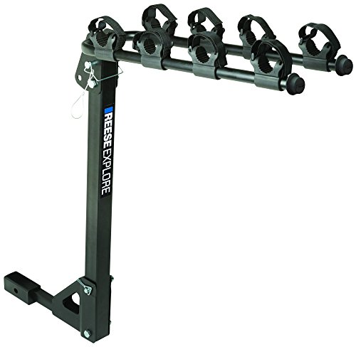 Reese Explore 1393100G Hitch Mount Tilt-Away 4 Bike Carrier