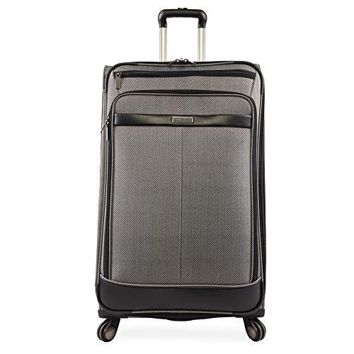 Perry Ellis Lexington II Lightweight Large Check-in Spinner Luggage, Herringbone