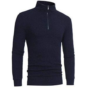 NanGate Turtleneck Mens Sweaters Pullovers Winter Thick Warm Knitting Warm Knitwear Pullover SAN0