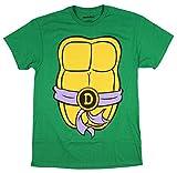 Teenage Mutant Ninja Turtles TMNT Mens Costume T-Shirt (Medium, Donatello)