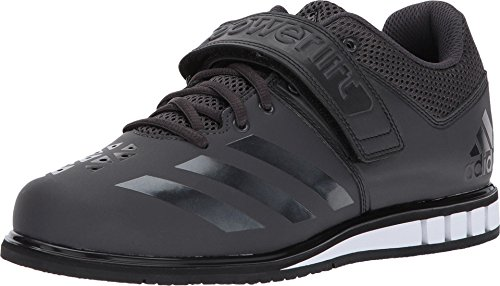 adidas Performance  Men's Powerlift.3.1 Cross-Trainer Shoes, Utility Black/Black/White, (10.5 M US)