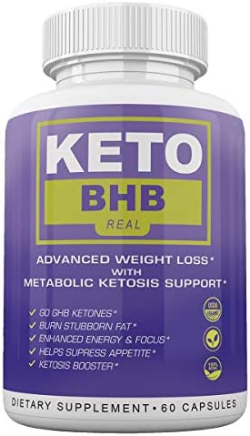 Keto BHB Real - Advanced Weight Loss wqth Metabolic Ketosis Support - 60 Capsules - 30 Day Supply 3