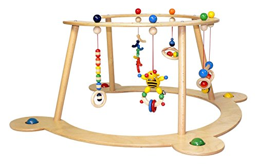 Hess Wooden Toddler Toy Baby Game and Trainer for Walking