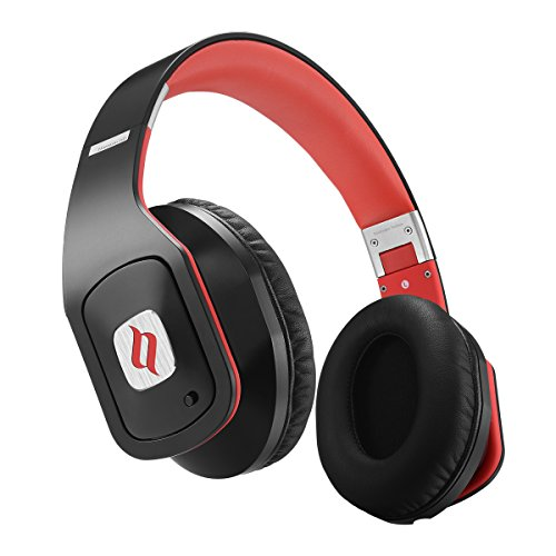 Noontec Hammo GO Noise Cancelling Over-ear Headphones For Audiophiles Pure Sound Quality, Durable, Foldable & Fashionable Stereo Headphones