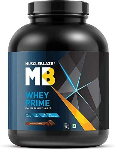 MuscleBlaze 80% Whey Protein Isolate